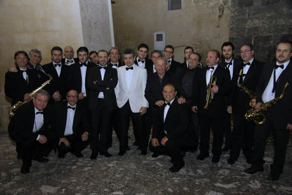 Frankie Roma with LJPBig Band Matera - 21st March 2010